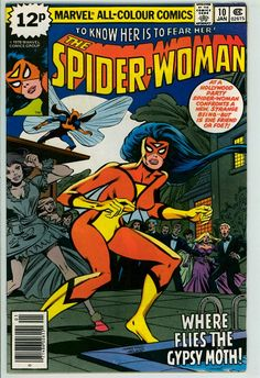 Spider-Woman 10 (FN 6.0) pence