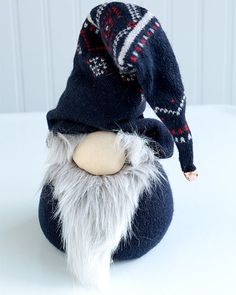 Norwegian Nisse Christmas Gnome Doll - http://www.sweetpaulmag.com/crafts/norwegian-nisse-christmas-gnome-doll #sweetpaul