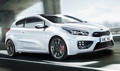 The new Kia Pro Cee'd GT
