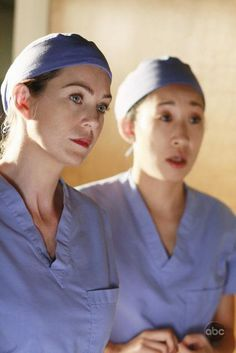 The dark and twisty sisters on Grey's Anatomy, Meredith Grey and Cristina Yang