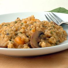 Brown Rice Risotto with Pumpkin Recipe