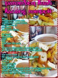 Pesembor kuah kacang Gado Gado Recipe, Chef Wan, Delicious Recipes, Yummy Food, Malaysian Food, Cooking Recipes, Tips, Acute Accent, Delicious Food