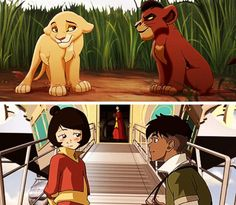 Jinora and Kai