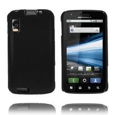 Hard Shell (Sort) Motorola Atrix 4G Deksel