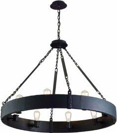 "Amazon.com: Jackson 36 1/4"" Wide Copper Bronze Chandelier: Home Improvement"