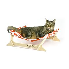 Marmalade Kitty Lounger Mini by Peach Industries - love the ultra mod design! meow!