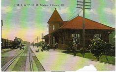 C.R.I. & P.R.R. Station  Ottawa, IL