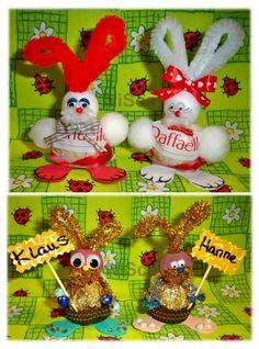 Ferrero-Häschen Ferrero Rocher, Christmas Ornaments, Holiday Decor, Photos, Hand Crafts, Easter, Summer Recipes, Gifts, Christmas Ornament
