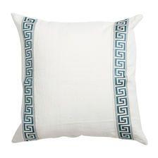 Greek Key Linen Pillow |