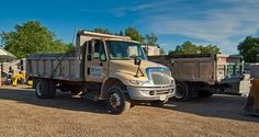 These are some of our trucks!