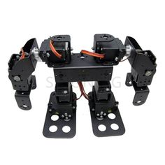 Official DOIT 8 DOF Humanoid Robot Walking Man Bipedal Robot Steering Gear Bracket Part Robot Arm/Hand Robotic Model Robotics Make A Robot, Diy Robot, Robot Leg, Walking Man, Humanoid Robot, Robot Kits, Tech Toys, Remote Control Toys, Diy Electronics