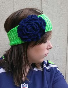Hey, I found this really awesome Etsy listing at https://www.etsy.com/listing/202086856/seahawks-headband