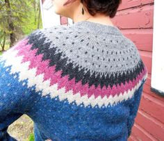 Springtime on Fair Isle  in Wool by MyFavoriteSweater on Etsy, $38.00