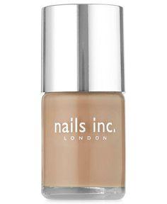nails inc. Basil Street Polish - Makeup - Beauty - Macy's