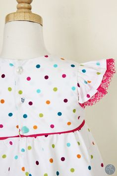 Polka Dots & Mismatched Buttons