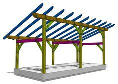 14x30 Timber Frame Shed - Timber Frame HQ
