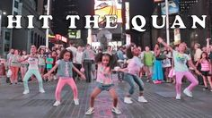 """What businesses received free advertising in this video?  How could you get free advertising?  5-year-old Heaven King and her dance crew are back! The group performs choreography to iHeart Memphis - """"Hit The Quan"""" in the Big Apple, NYC!"""