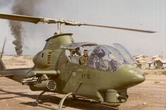 In December 1970, the AH-1G Huey Cobra was selected as front line attack chopper