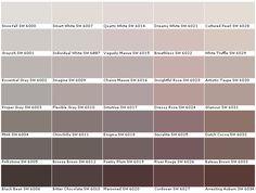 Sherwin Williams SW6000 Snowfall SW6001 Grayish  SW6002Essential Gray…