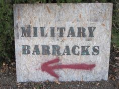 Army Theme - Sign