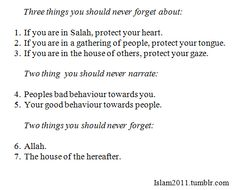 Three things you never forget about, two things to never narrate, two things never to forget (via The Beauty of Islam) Hadith Quotes, Quran Quotes Love, Quran Quotes Inspirational, Muslim Quotes, Imam Ali Quotes, Inspiring Quotes, Best Islamic Quotes, Islamic Phrases, Beautiful Islamic Quotes