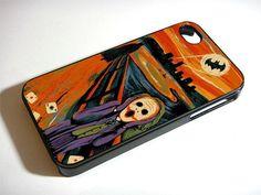 SCREAM BATMAN and JOKER - iPhone 4 / iPhone 4S / iPhone 5 Case Cover