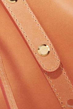 Mansur Gavriel - Leather Bucket Bag - Camel - one size
