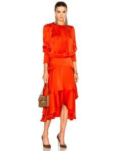 Preen By Thornton Bregazzi | Red Annabelle Dress | Lyst