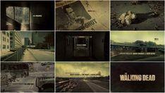 The Walking Dead (Season 1-2) | 2010 | Main Title Design by: Prologue Films