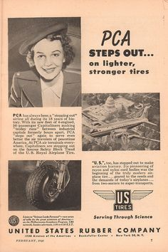 1946 United States Rubber Company Advertisement Popular Science February 1946   by SenseiAlan