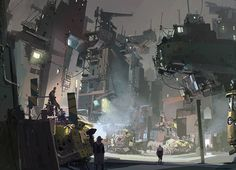 Some very cool concept art and illustration from Ian McQue.