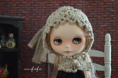 Knitting/Crochet Bonnet/Hats  Linen Light