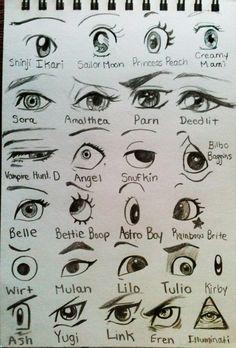 ¿Cuántos de estos ojos de personajes conoces?