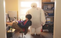 I'm still comparing your past to my futureIt might be your wound, but they're my suturesBig Hero 6 cosplayHiro ▻ Jin (me) / Baymax ▻ Kerophotos by Kat and Reskiy» Part of our Big Hero 6 photo series (●—●)