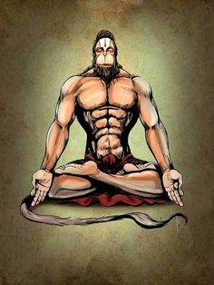 Hanuman #hindu #workout #lord