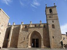 Concatedral de Santa María de Cáceres España.