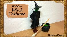tutorial: witch costume for miniature doll