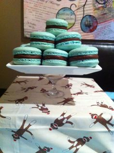 Easy French Macaron Recipe (Macaroons)   HowToCookThat : Best Birthday Cakes Desserts Parties Gingerbread Houses & Cake Pops