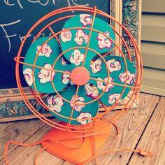 Tu Organizas.: Decore o ventilador que você tem em casa