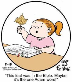 Family Circle, Love My Family, Family Life, Christian Cartoons, Christian Humor, Family Circus Cartoon, Funny Cartoons, Laugh Cartoon, Bible Humor