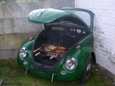VW Bug BBQ - I expect to see this soon at Dawn & Wayne's house;)