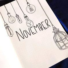 34+ November Bullet Journal Ideas For Your Bujo