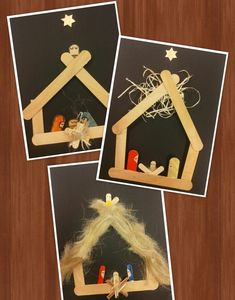 Check out some of the most awesome Christmas crafts for kids that theyll absolutely love making over the festive season Christian Christmas Crafts, Childrens Christmas Crafts, Preschool Christmas Crafts, Christian Crafts, Christmas Crafts For Kids To Make, Christmas Card Crafts, Nativity Crafts, Christmas Activities, Christmas Angels