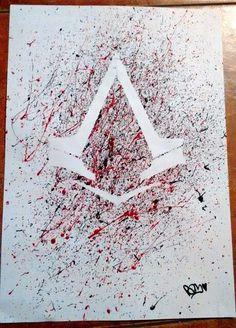 Assassin's creed sindacate  disegno artistico .