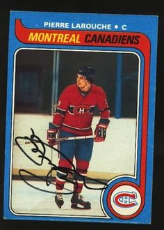 PIERRE LAROUCHE CANADIENS AUTO TOPPS 79 CARD 233 PSA . $10.00. PIERRE LAROUCHEMONTREAL CANADIENSHAND SIGNED CARD #2331979 TOPPSCARD IS PSA/DNA AND JSA AUTHENTICATED WITH LETTERS OF AUTHENTICITY (LOA) INCLUDED.GREAT, AUTHENTIC TREVOR LINDEN AND HOCKEY COLLECTIBLE!!!ITEM PICTURED IS ACTUAL ITEM RECEIVED. ITEM IS SOLD AS IS, NO REFUNDS OR EXCHANGES.