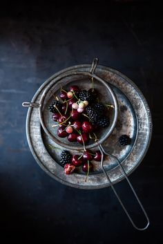 Dark and Moody Food