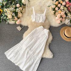 Kpop Fashion Outfits, Girls Fashion Clothes, Suit Fashion, Girl Fashion, Clothes For Women, Womens Fashion, Dress Suits, Skirt Suit, Dresses