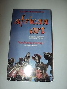 African Art VHS tape.  Factory sealed.  BBC - 1995. #YTTreasures #FREESHIPPING #FREESHIPPING1