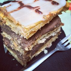 Mille Feuille by Bruno's bakery in Rochester.