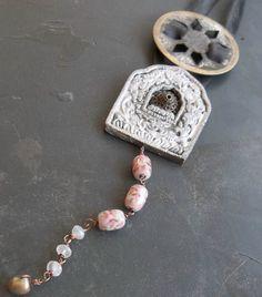 Innertube Recycled Neckpiece by darlicioushouse on Etsy